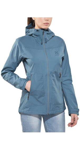 Haglöfs Trail Jacket Women steel sky